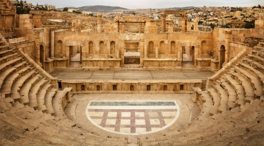 Jerash, il teatro romano