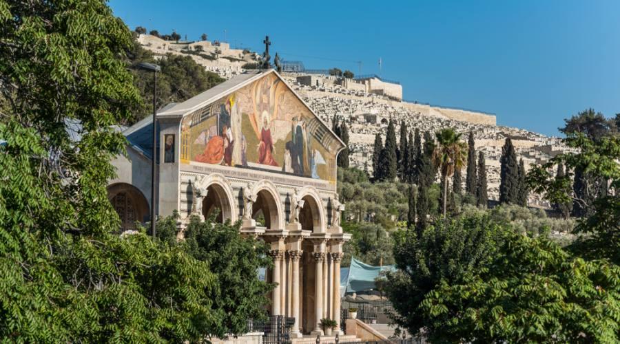 Israele, Chiesa delle Nazioni Monte degli Ulivi