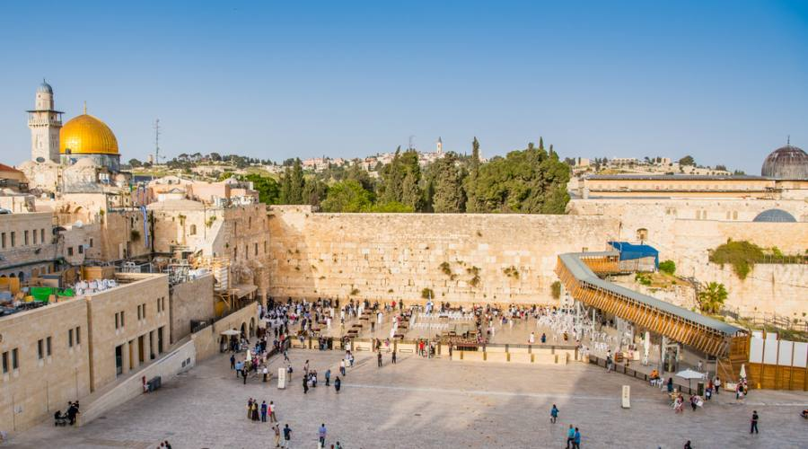 Gerusalemme, muro del pianto