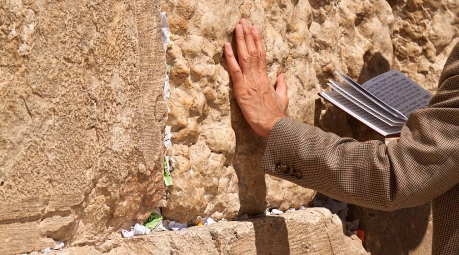 Gerusalemme, preghiera al muro del pianto