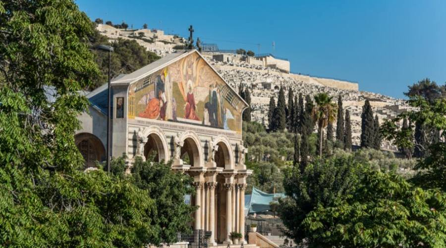 Israele, Chiesa delle Nazioni Monte...