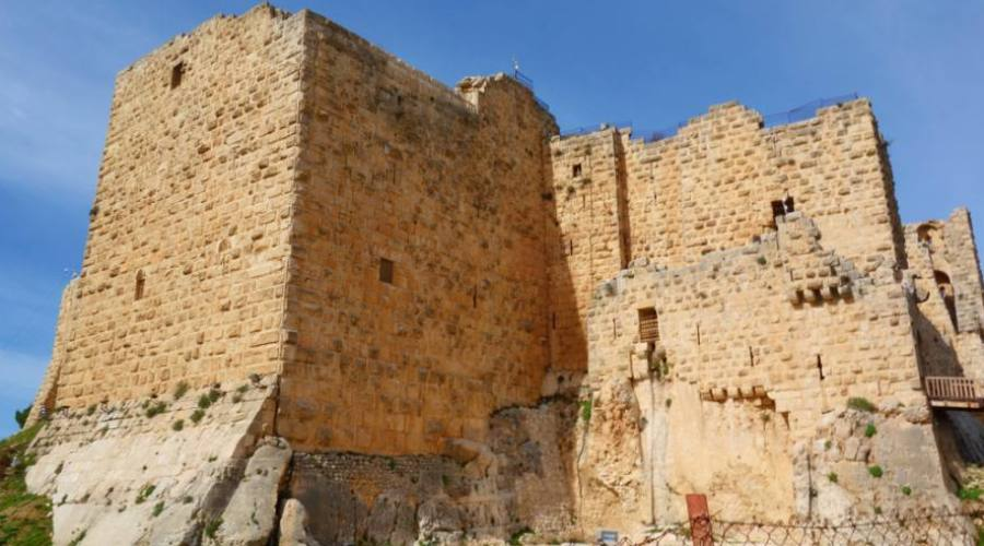 Ajloun, fortezza musulmana (il...