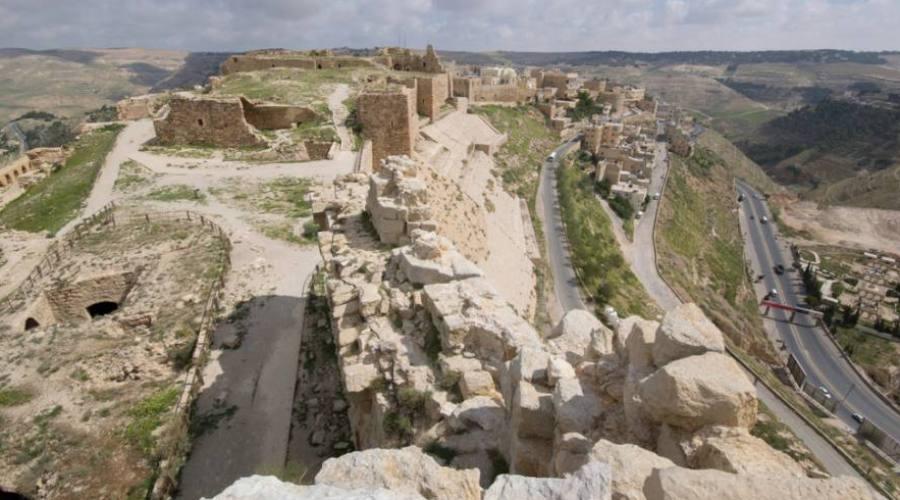 Karak, il castello crociato