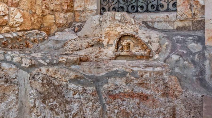 Gerusalemme, roccia dell'agonia (Monte...