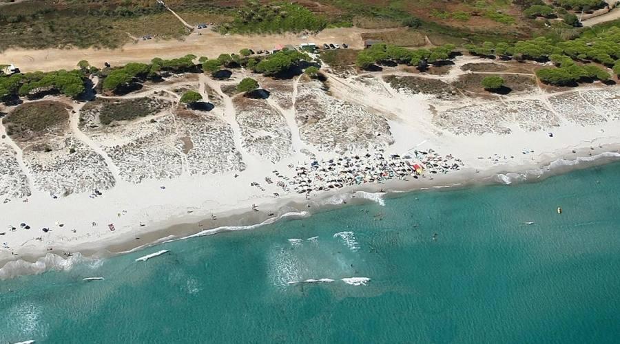 Panorama mare e spiaggia