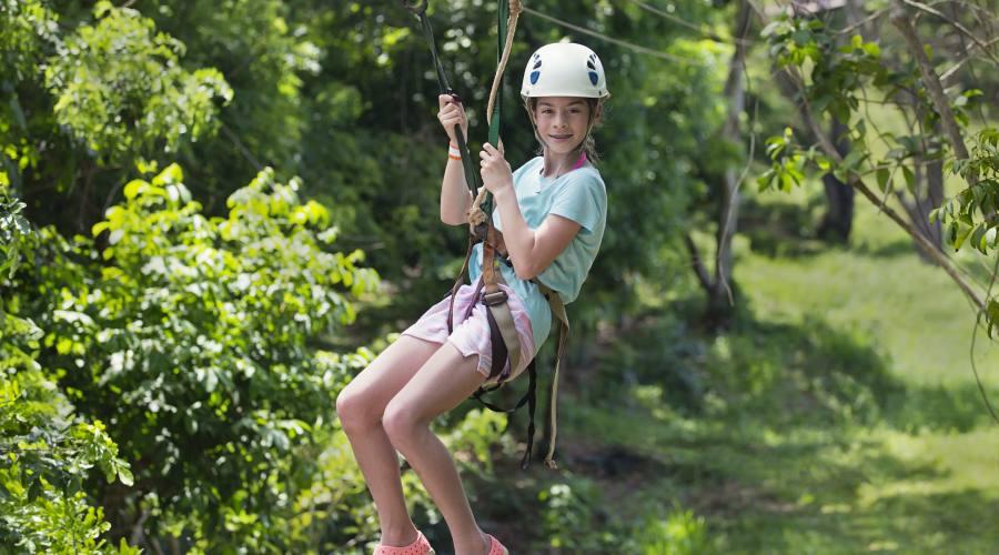 Zip line a Monteverde