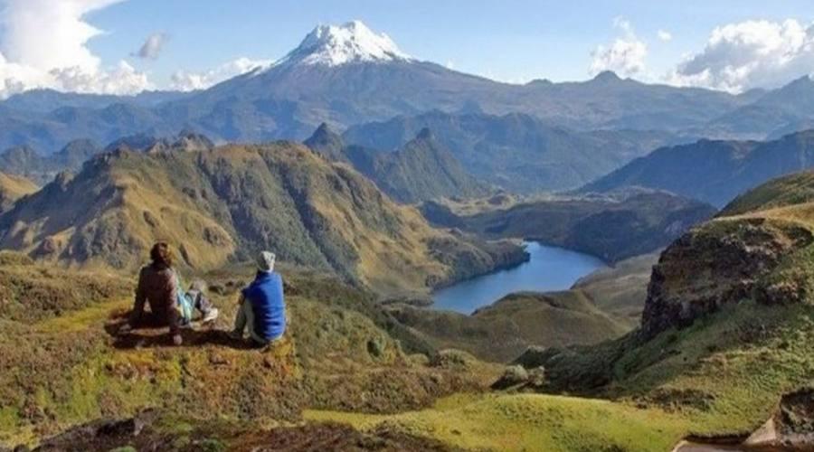 Sulla vetta del Cerro Quillaloma