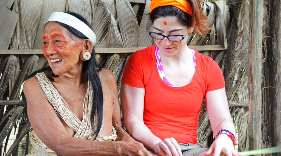 A scuola con l'indios!