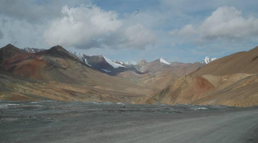 steppa Kyrgyzstan