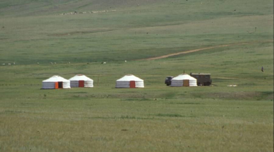 accampamento nomadi