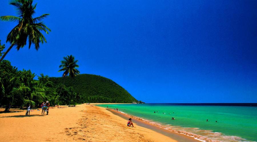 Guadalupa, spiaggia di Grande Anse