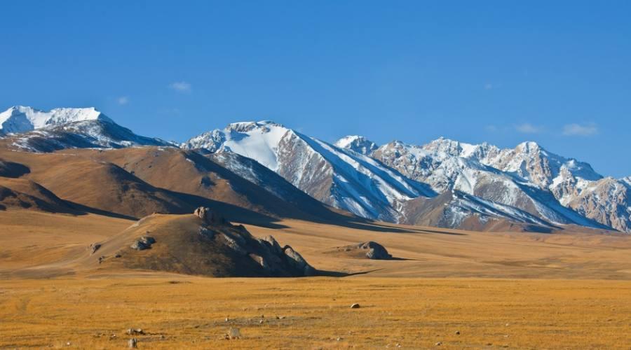 Mountain Tien Shan