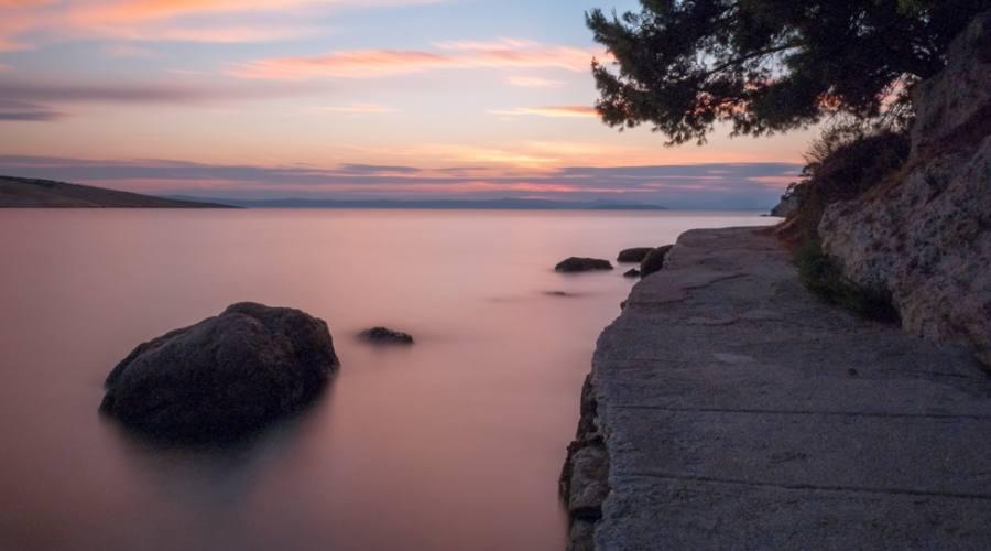 Lopar - il tramonto