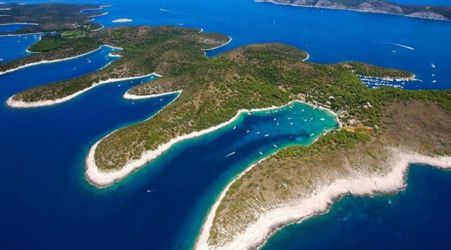 Isola di Hvar - panoramica
