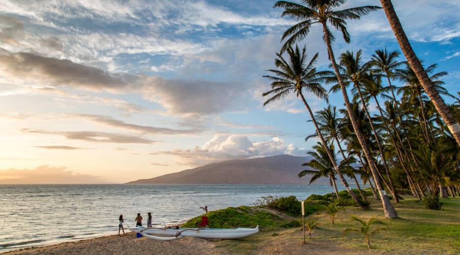 Tramonto a Lahaina Maui