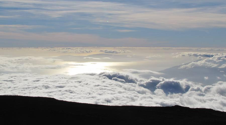 Vista dal vulcano Haleakala