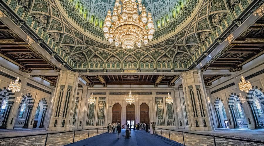 La Grande Moschea del Sultano Qabus