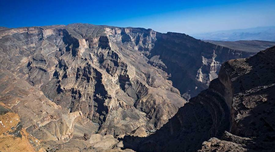 La montagna di Jebel Shams
