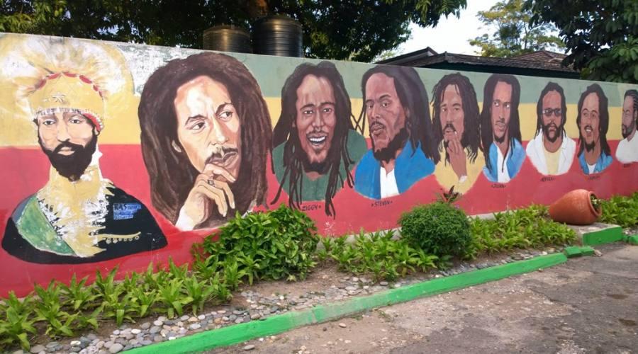 Nine Miles Jamaica Bob Marley Mausoleo