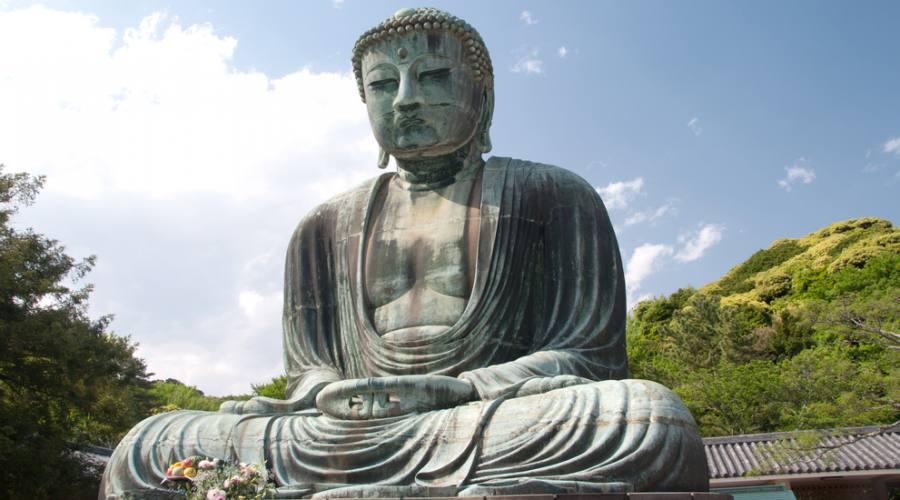 Il grande Buddha di Kamakura
