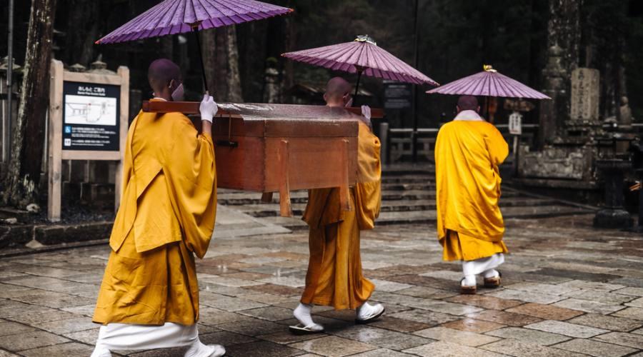 Monaci al Monte Koya