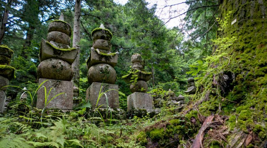 Antico tempio sul Monte Koya