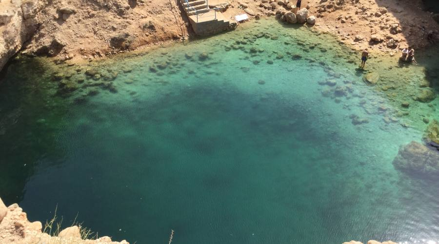 Il Sinkhole di Bimmah detto anche anche Dibab
