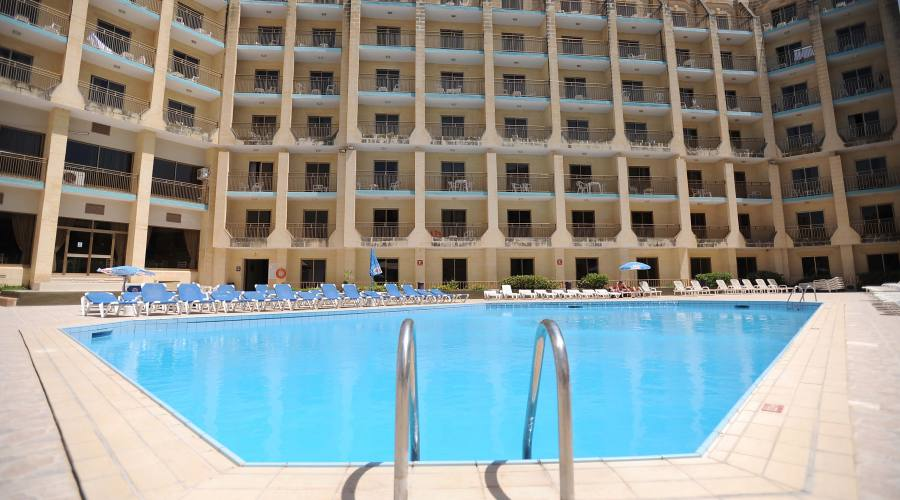 The Bugibba Appartamenti: Piscina Esterna