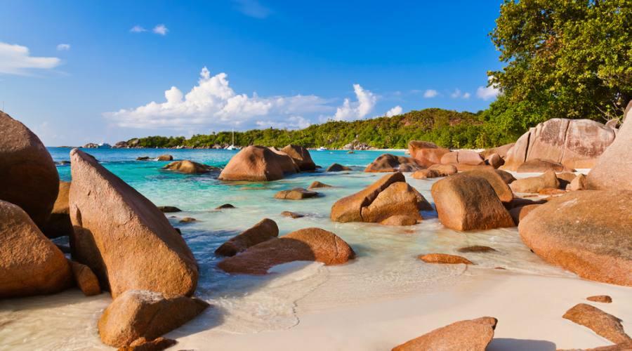 Seychelles Praslin Anse Lazio