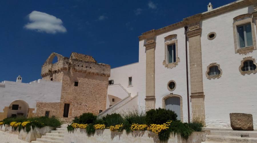 Masseria dove si è rifugiato Don Ciro Annicchiarico