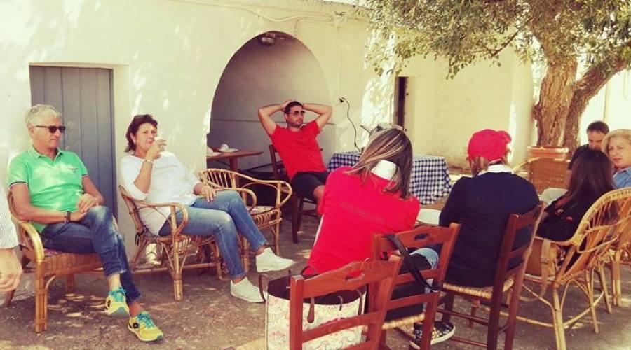 Relax e degustazione in Masseria