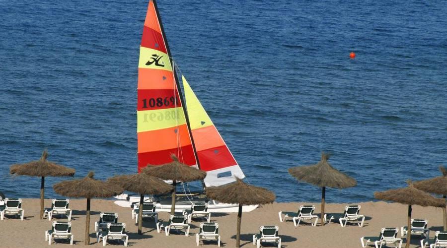 la magnifica spiaggia ...