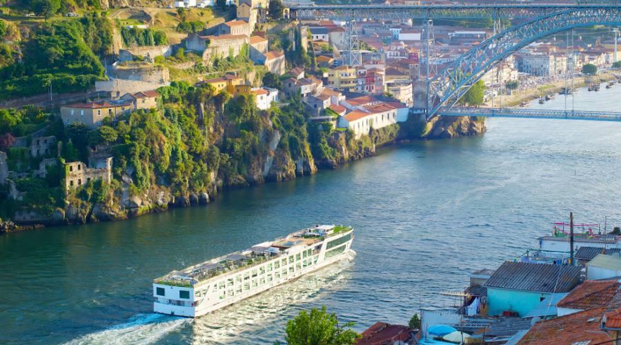 Entrando a Porto