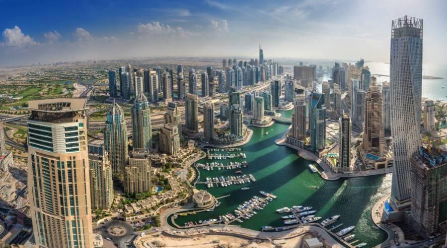 Dubaï : vue aérienne