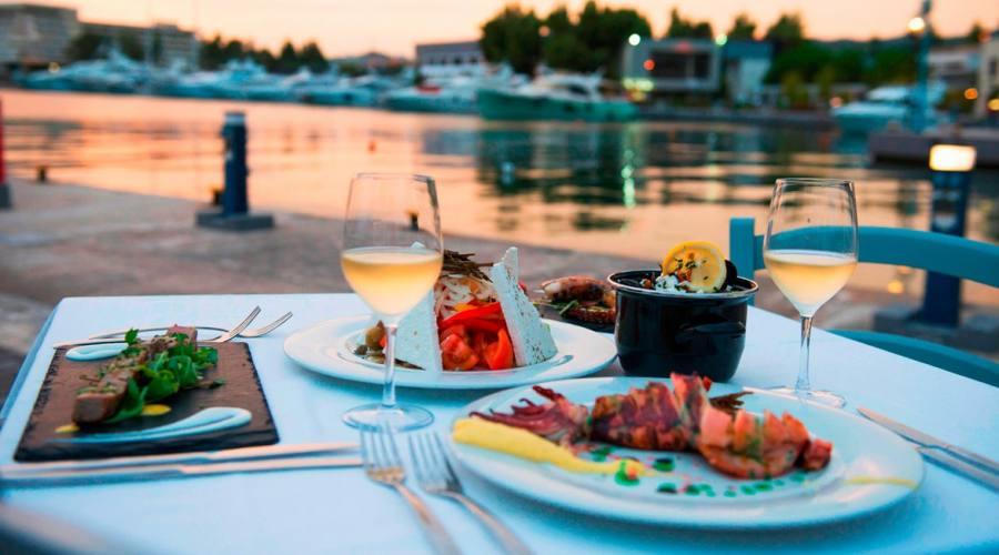 Cena sul mare...