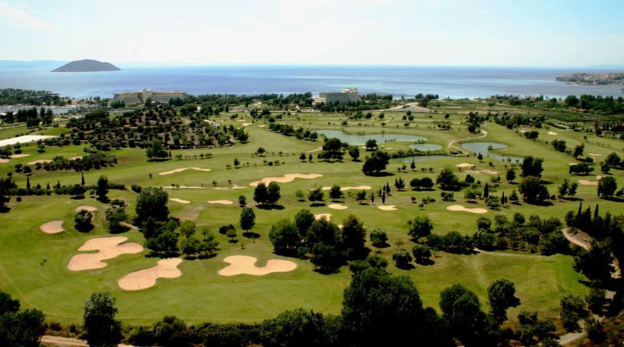 Il bellissimo campo da Golf...