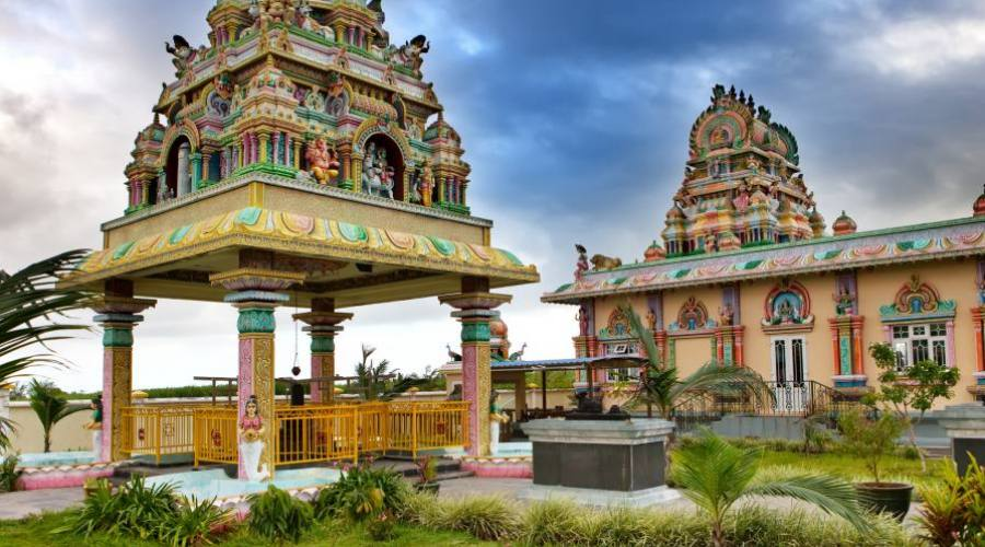 Temple hindou à l'île Maurice