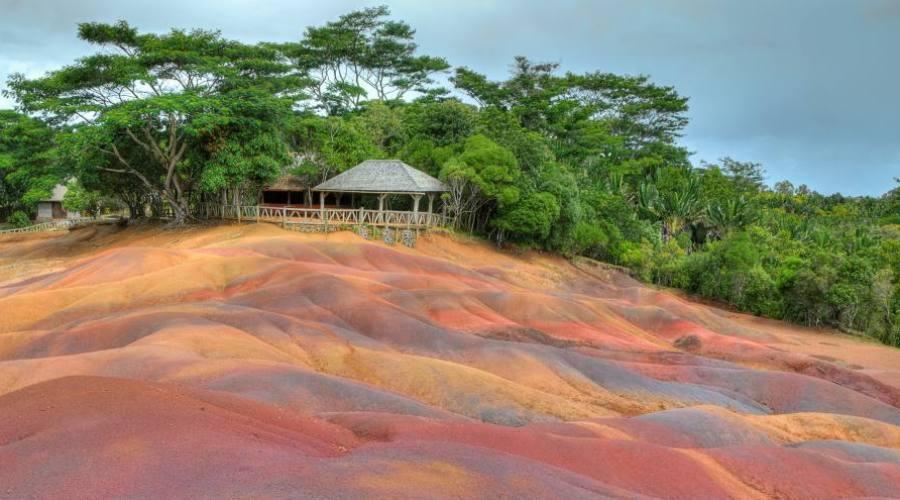 Les terres colorées de Chamarel