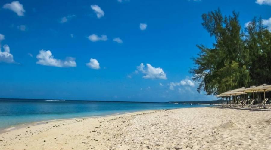 La plage de Flic En Flac