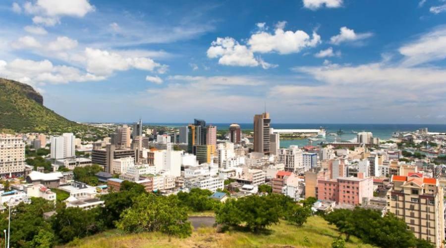 Port Louis, la capitale de l'île Maurice