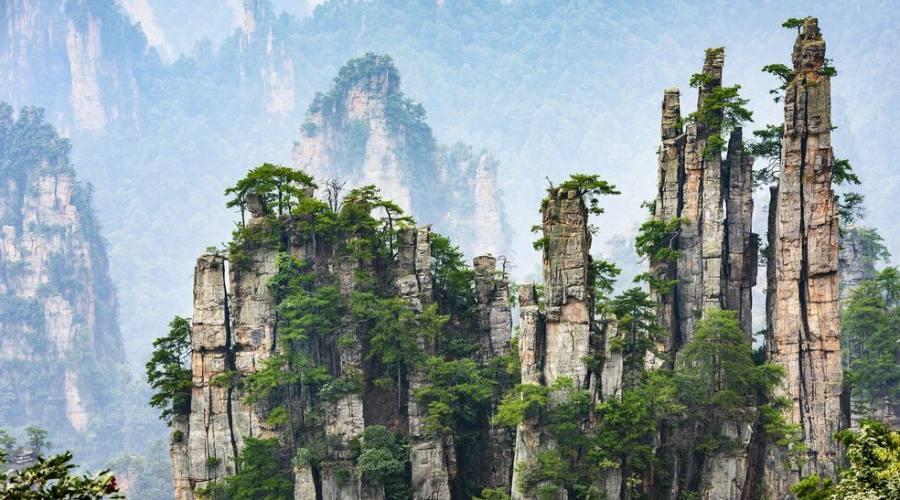 Zhangjiajie Foresta di Avatar