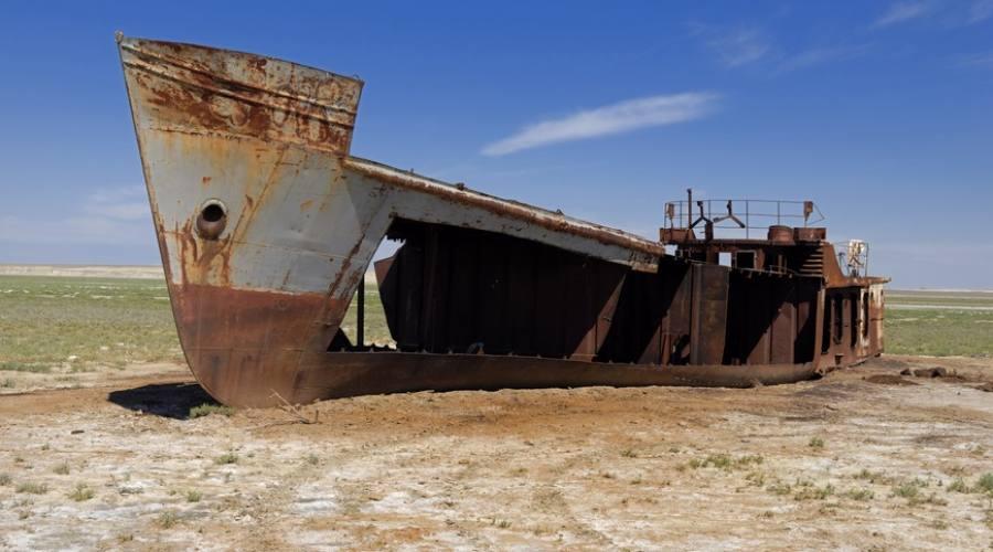 carcassa di nave Aral