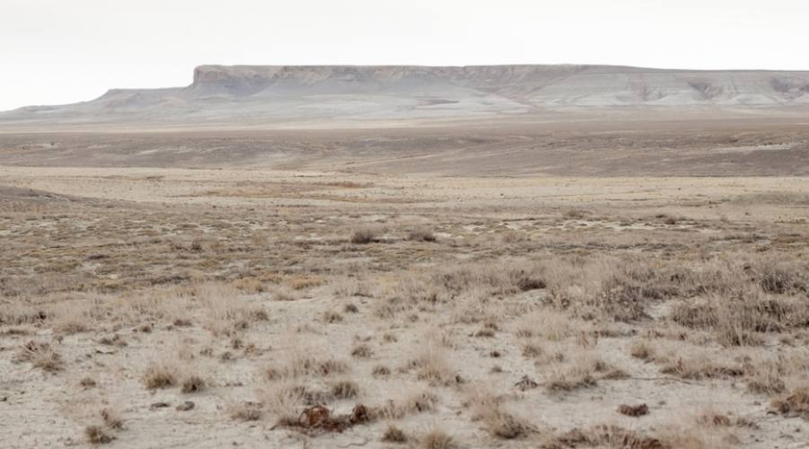deserto sul Lago d'Aral