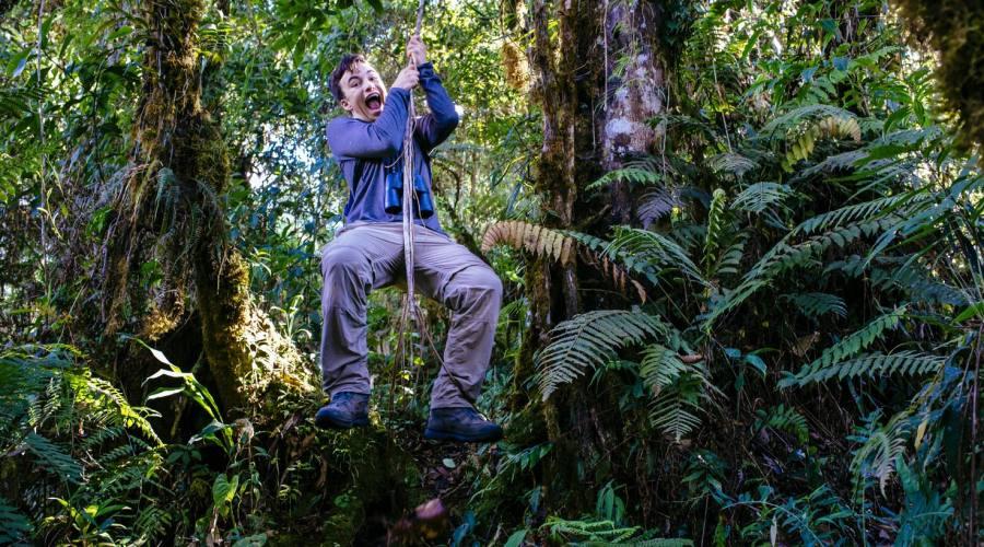 Giocare a Tarzan nelle foreste peruviane!