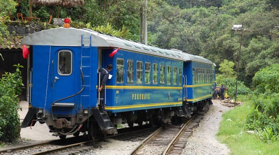 Il treno per arrivare a Machu Picchu