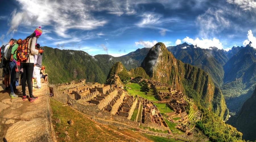 In  alto al Machu Picchu!