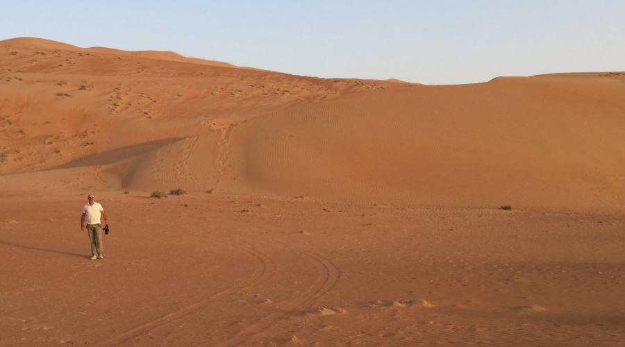 Il deserto di Wahida Sands