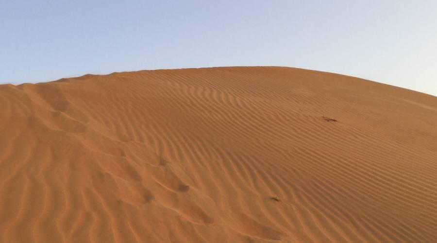 Le dune del deserto di Wahiba Sands