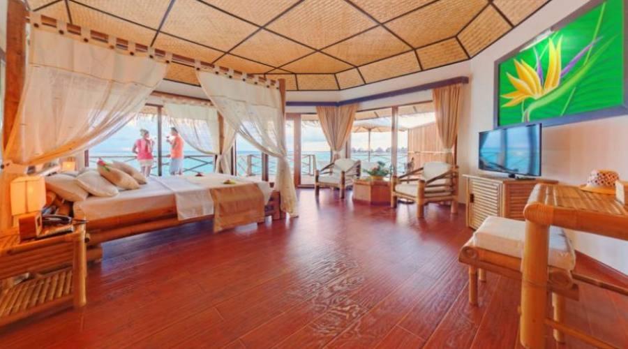 intérieur water bungalow