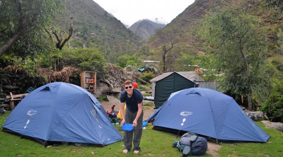 Il campo Wayllabamba